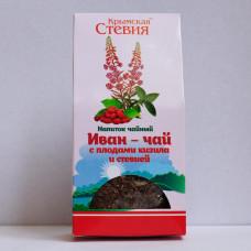 Иван-чай с плодами кизила и стевией