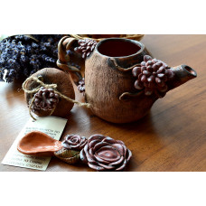 """Глиняный чайник """"Май"""""""